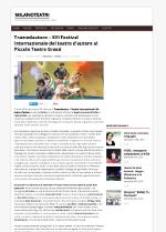 Tramedautore - Milano Teatri 12-09-2016