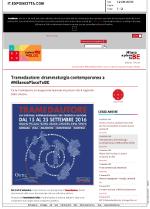 Tramedautore - Expo in Città 13-09-2016